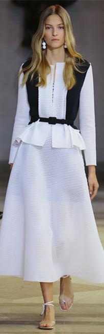 Carolina Herrera 2016春夏纽约时装周