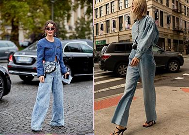 喇叭裤,妥妥的时髦icon