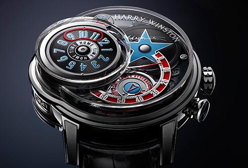 海瑞温斯顿发布全新Opus 14腕表